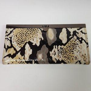 Faux Alligator Clutch/Wallet